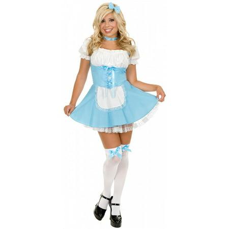 White Queen Costume Alice In Wonderland (Alice in Wonderland Adult Costume -)