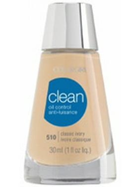 CoverGirl Clean Oil Control Liquid Makeup, Classic Ivory 1 Oz