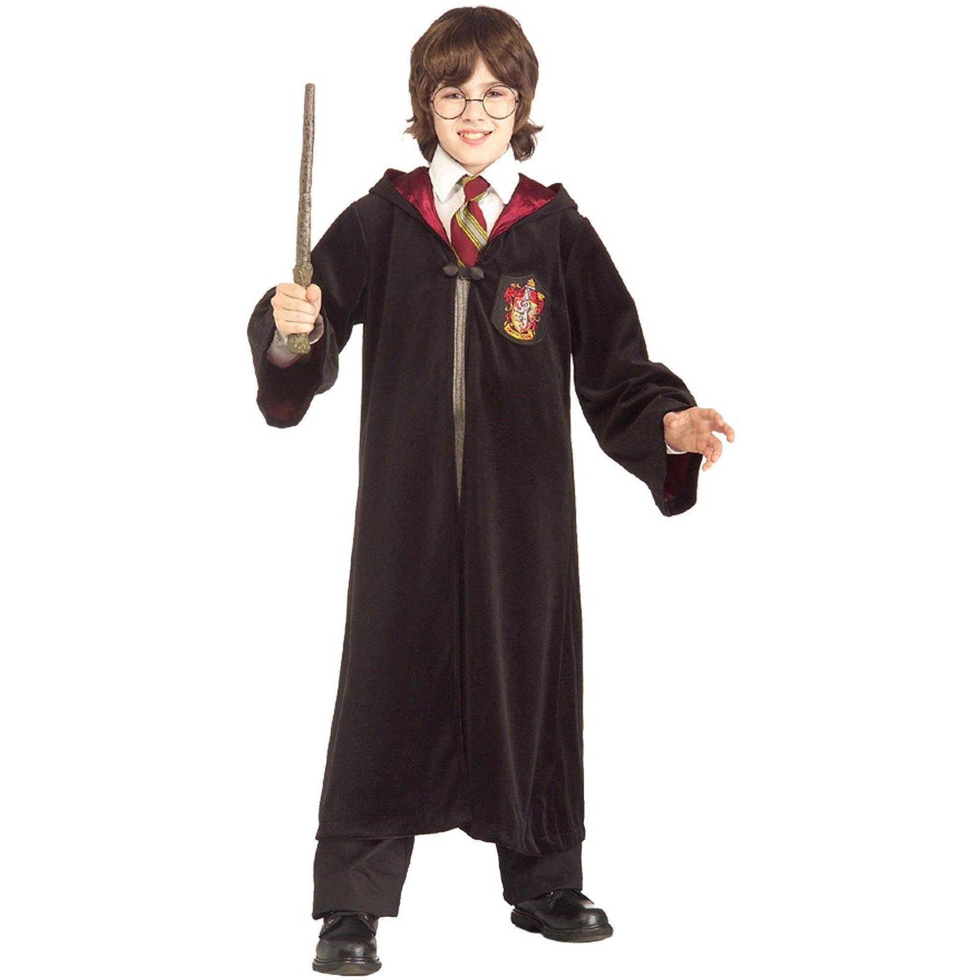 Harry Potter Premium Gryffindor Robe Child Halloween Costume, Small (4-6)