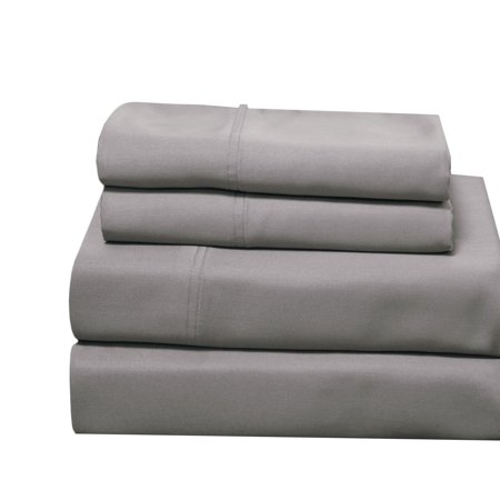 100 Bamboo Sheets Woven At 600 Thread Counts Softest Sheet Set With Deep Pockets California King Gray