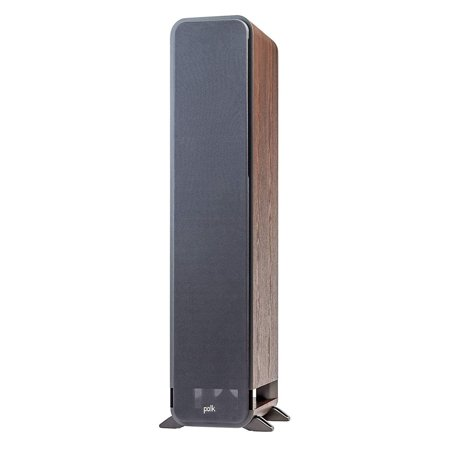 Polk Audio Signature S55 Series American HiFi Home Theater Tower Speaker, Walnut