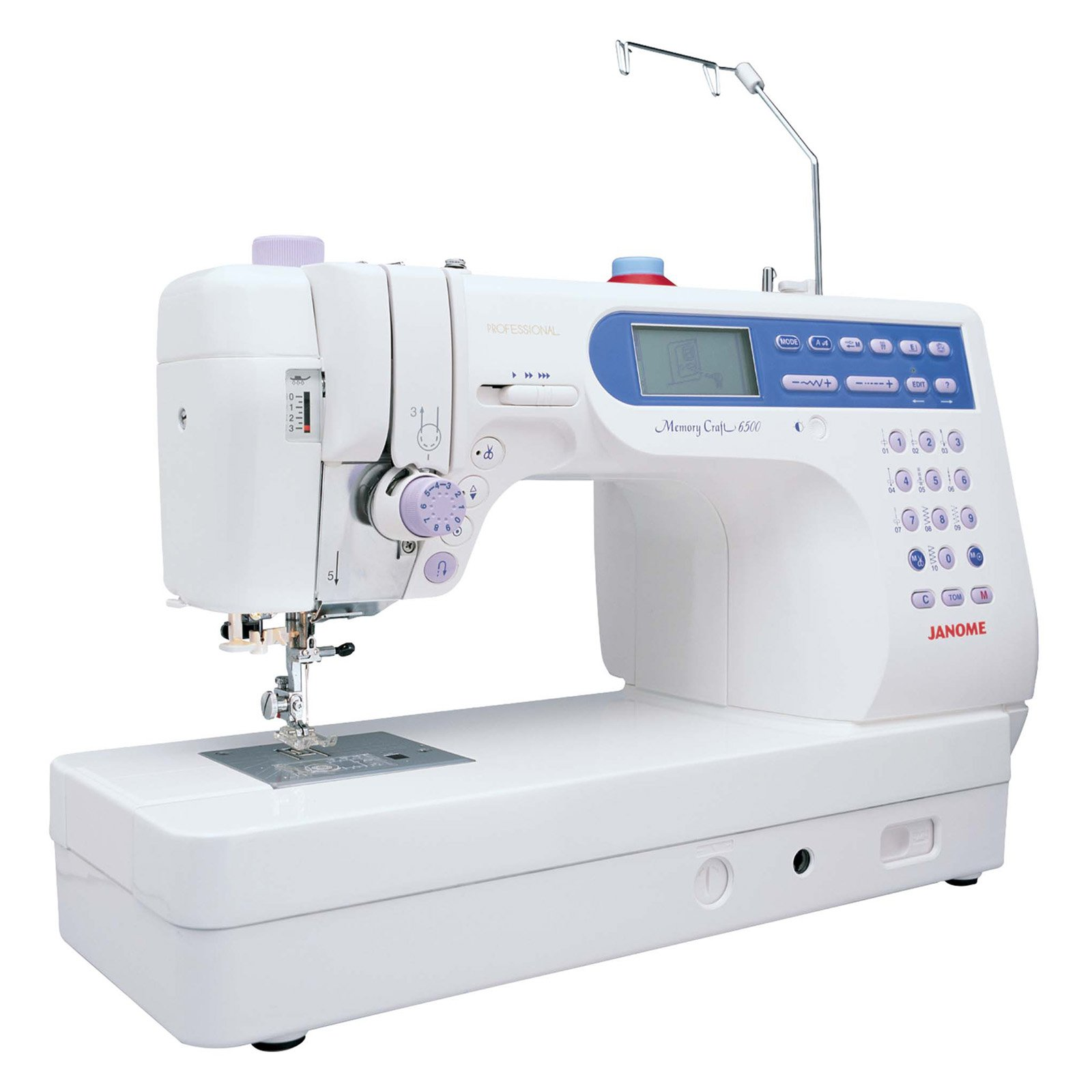 Janome 6500P 135-Stitch High-End Fully-Featured Computerized ...