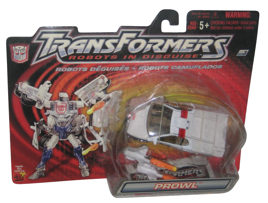 Transformers Robots In Disguise Autobots Prowl (2001) Hasbro Toy Figure High Speed Chaser by Hasbro
