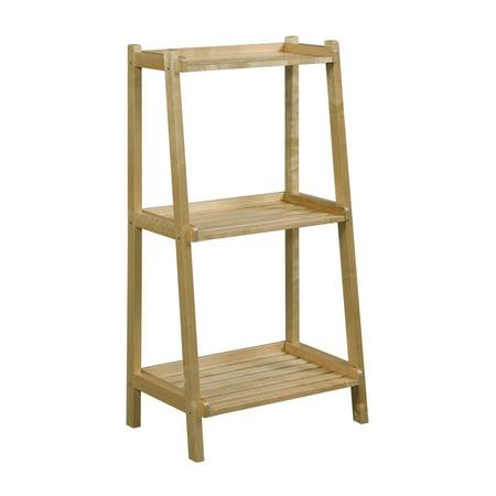 Dunnsville 3 Tier Ladder Shelf