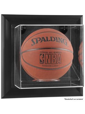 Black Framed Wall Mountable Basketball Display Case - Fanatics Authentic Certified