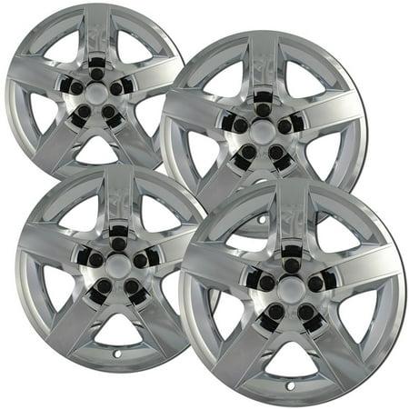 OxGord 17-Inch Wheel Covers for Chevrolet Malibu, Chrome (Pack of 4)