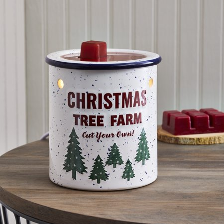 Better Homes & Gardens Full Size Wax Warmer, Christmas Tree Farm