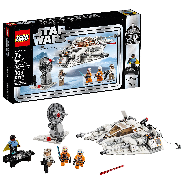 LEGO Star Wars 20th Anniversary Edition Snowspeeder Vehicle Model 75259