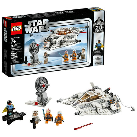 LEGO Star Wars 20th Anniversary Edition Snowspeeder Vehicle Model 75259