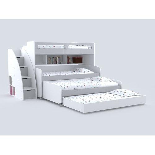 Brayden Studio Gautreau Twin Bunk Bed With Trundle Walmart Com
