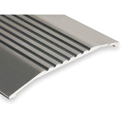 426-4 Saddle Threshold, Fluted Top, 4 ft., Alum