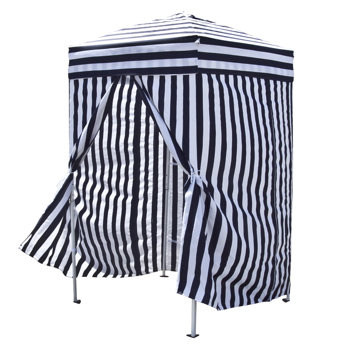 Apontus Striped Portable Changing Cabana Tent Patio Beach Pool Navy White - Walmart.com  sc 1 st  Walmart.com & Apontus Striped Portable Changing Cabana Tent Patio Beach Pool ...