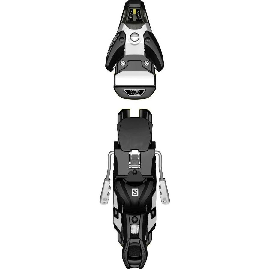 Salomon STH2 WTR 13 Ski Binding- Black/White