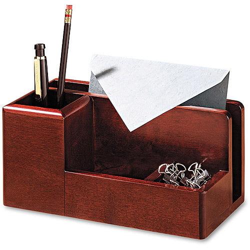 Rolodex Wood Tones Desk Organizer 4 1 4 Quot X 8 3 4 Quot X 4 1 8