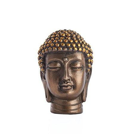 (Gautama Buddha Head Religious Buddhist Meditation Desktop Figurine Statue 2 Inch)