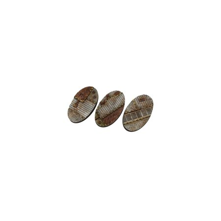 75mm Tech - Oval Bases New ()