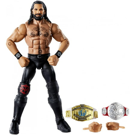 WWE Top Picks Elite Collection Seth Rollins 6-Inch Action Figure - Wwe Banner