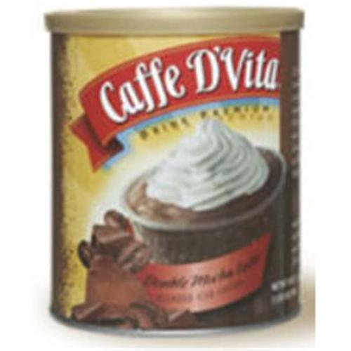Caffe DVita F-DV-1C-06-DMCH-IC Double Mocha Latte Blended Iced Coffee 6 1lb canisters
