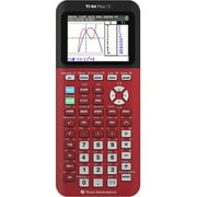 Texas Instruments TI-84 Plus CE Graphing Calculator, Radical Red