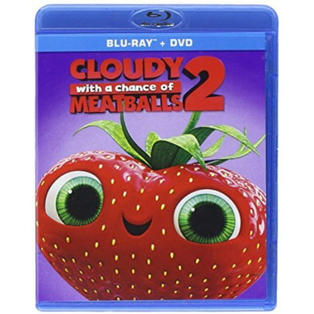 Cloudy With a Chance of Meatballs 2 (Blu-ray + DVD) - Chances With Wolves Halloween