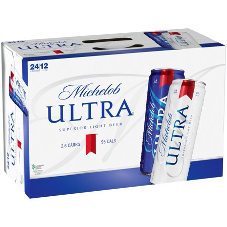 Michelob Ultra® Light Beer, 24 Pack 12 fl. oz. Cans ...  Michelob Ultra�...
