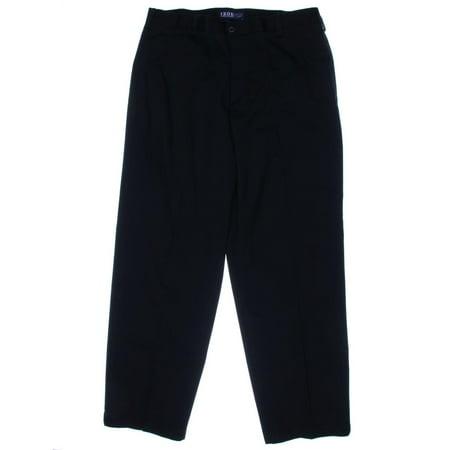 Izod Mens Classic Fit Flat Front Chino Pants