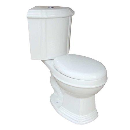 Dual Flush Water Saver Round Space Saving Corner Toilet Ceramic (Dual Flush Corner Toilet)
