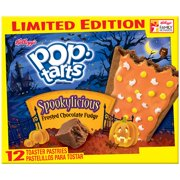 Kelloggs Pop TartsSpookylicious Frosted Chocolate Fudge