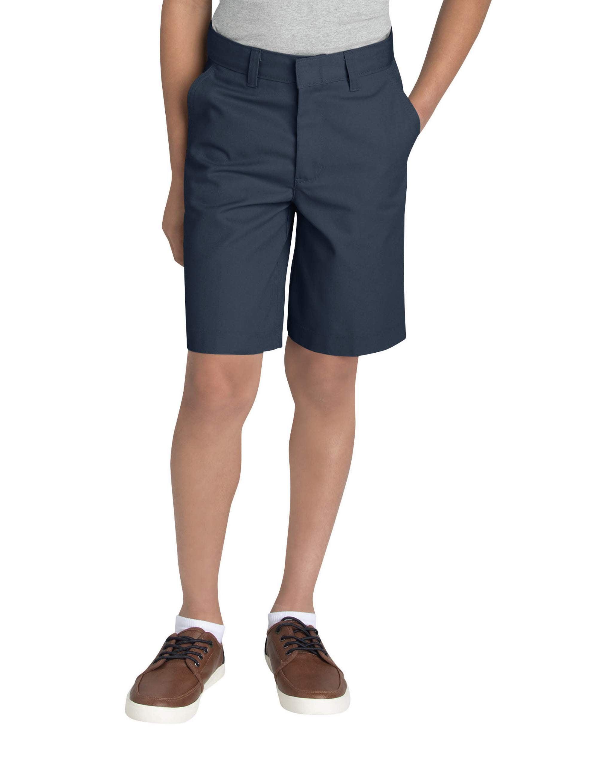 Boys' Uniform FlexWaist® Flat Front Short (Husky)