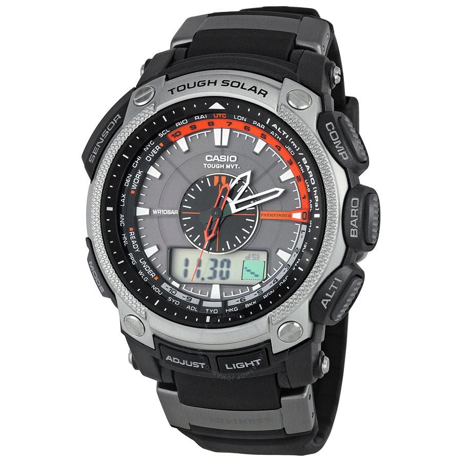 Casio Pro Trek Pathfinder PRW5000-1 Atomic Solar Compass ...