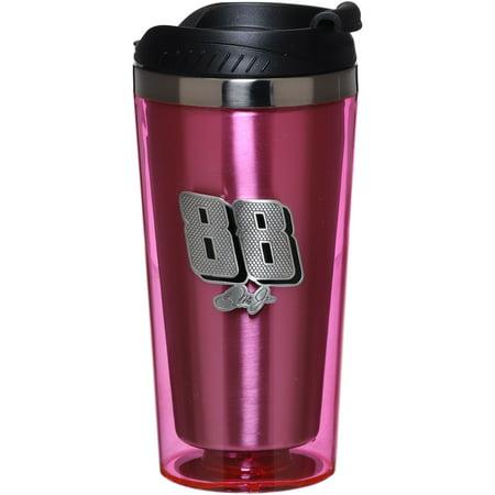 Dale Earnhardt Jr. 16oz. Acrylic Mug - Pink - No Size Dale Earnhardt Jr Travel Mug