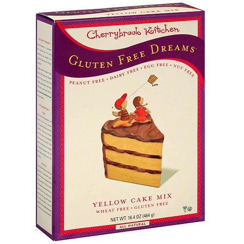 Cherrybrook Kitchen Yellow Cake Mix, 16.4 oz (Pack of 6)