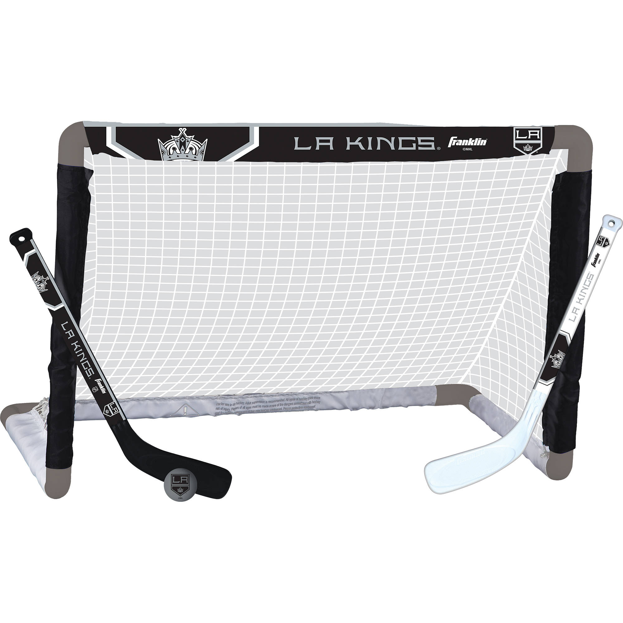 Franklin Sports NHL Los Angeles Kings Mini-Hockey Set