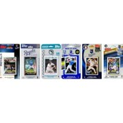 C & I Collectables ROYALS611TS MLB  Kansas City Royals 6 Different Licensed Trading Card Team Sets