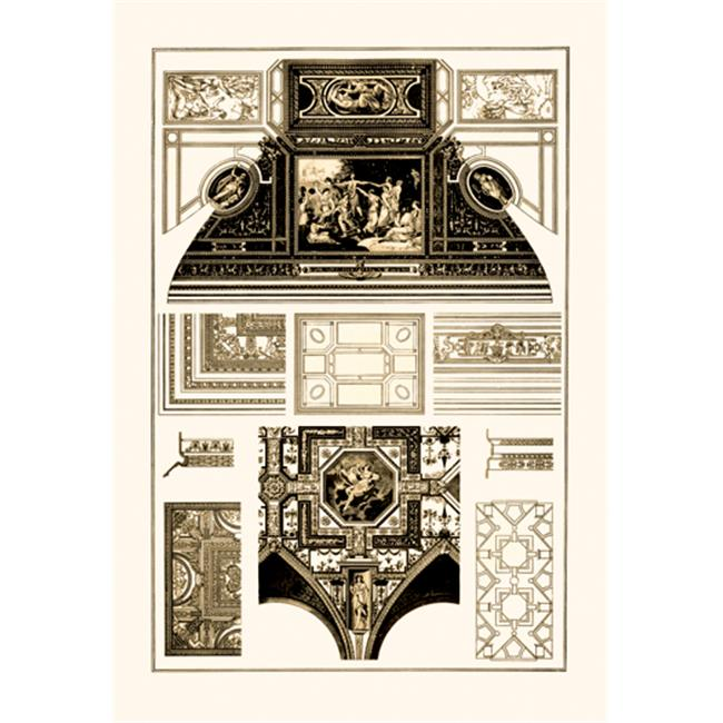 Buy Enlarge 0-587-09091-xP20x30 Cloister-Vaults and Coved Ceilings- Paper Size P20x30