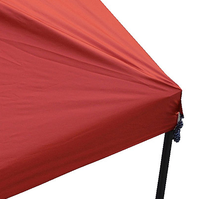 Ozark Trail 10' x 10' Gazebo Top for Tailgating or Sports Events, Red