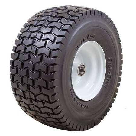 MARATHON 30426 Flat Free PU Wheel,15x6.50-6,400