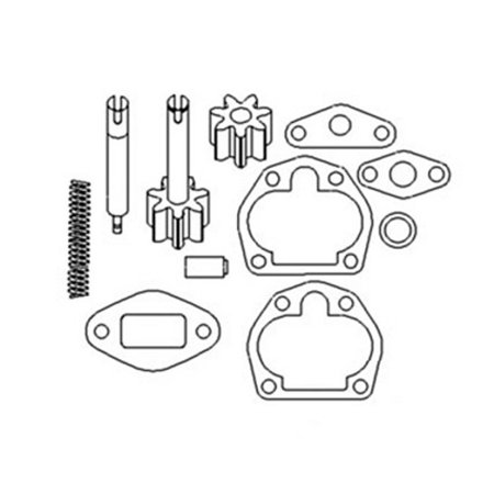 CPN6600A Oil Pump Repair Kit 35A53 Made for Ford New