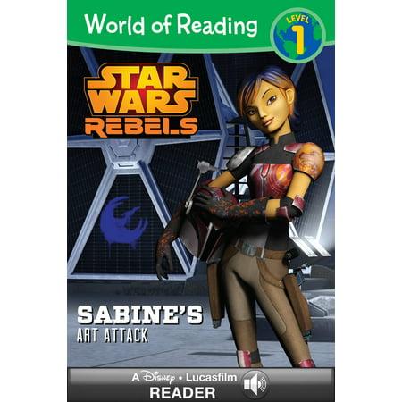 World of Reading Star Wars Rebels: Sabine's Art Attack - eBook - Art Attack Halloween Ideas