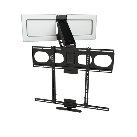 Mantelmount Mm540 Enhanced Pull Down Tv Mount Above Fireplace
