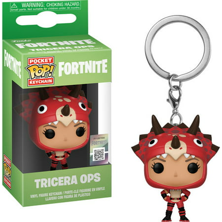 FunKo POP! Keychain, Fortnite Tricera Ops