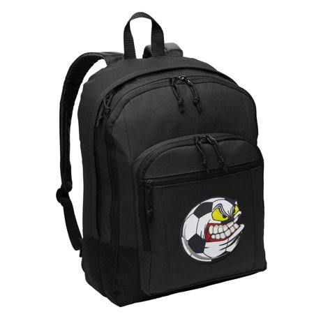 Soccer Nut Backpack CLASSIC STYLE Soccer Fan Backpacks Travel & School Bags