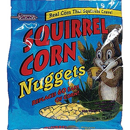 Brown's Squirrel Corn Nuggets Small Animal Food, 5 Lb
