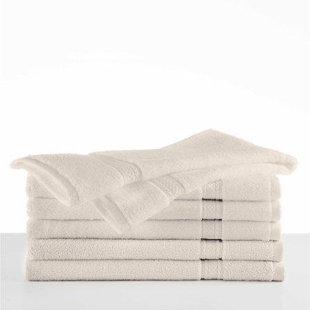 Hotel Luxury 6 Piece Light Sage Hand Towel Set