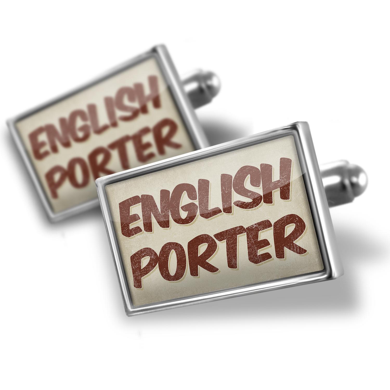 Cufflinks English Porter Beer, Vintage style - NEONBLOND