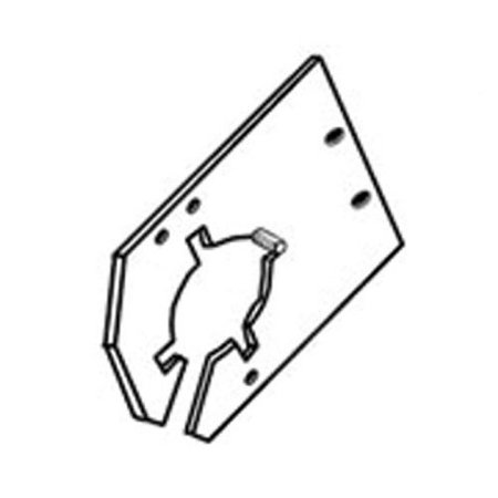 Feeder House Lower Shaft Bracket, New, Case IH, 1321629C2
