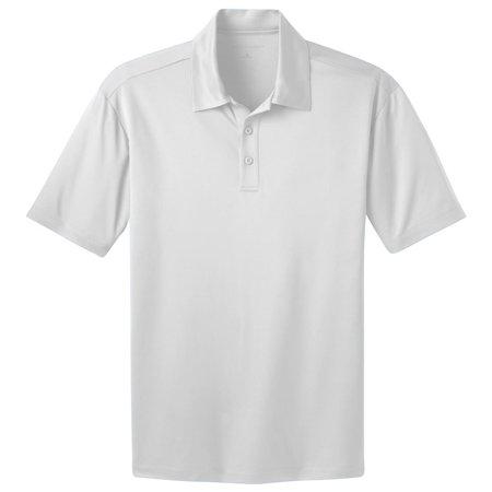 Port Authority Men's Durable 3-Button Placket Polo Shirt