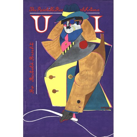 Richard Lindner The Resistible Rise Of Arturo Ui 1968 Serigraph