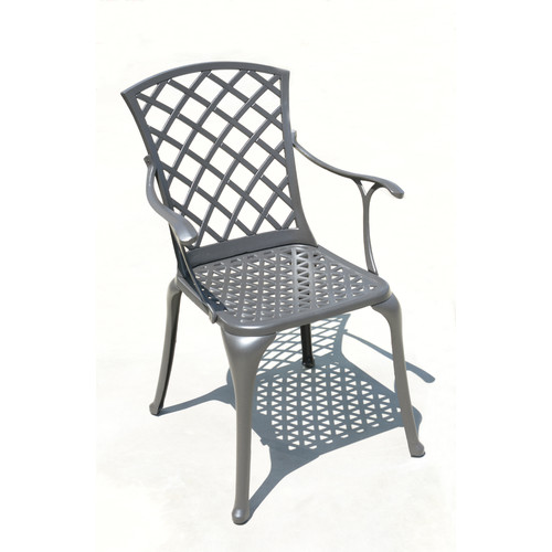 DHC Furniture Memphis Stacking Patio Dining Chair (Set of 2)
