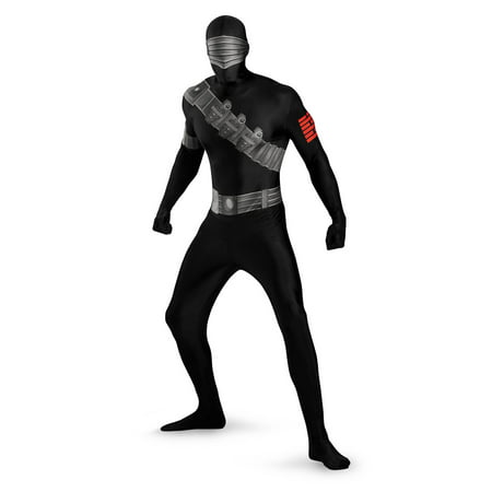 Snake Eyes Bodysuit Adult Halloween Costume, Size: Men's 42-46 - One Size](Snake Eyes Costumes For Kids)